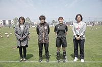 活躍する北海道女子サッカーファミリー